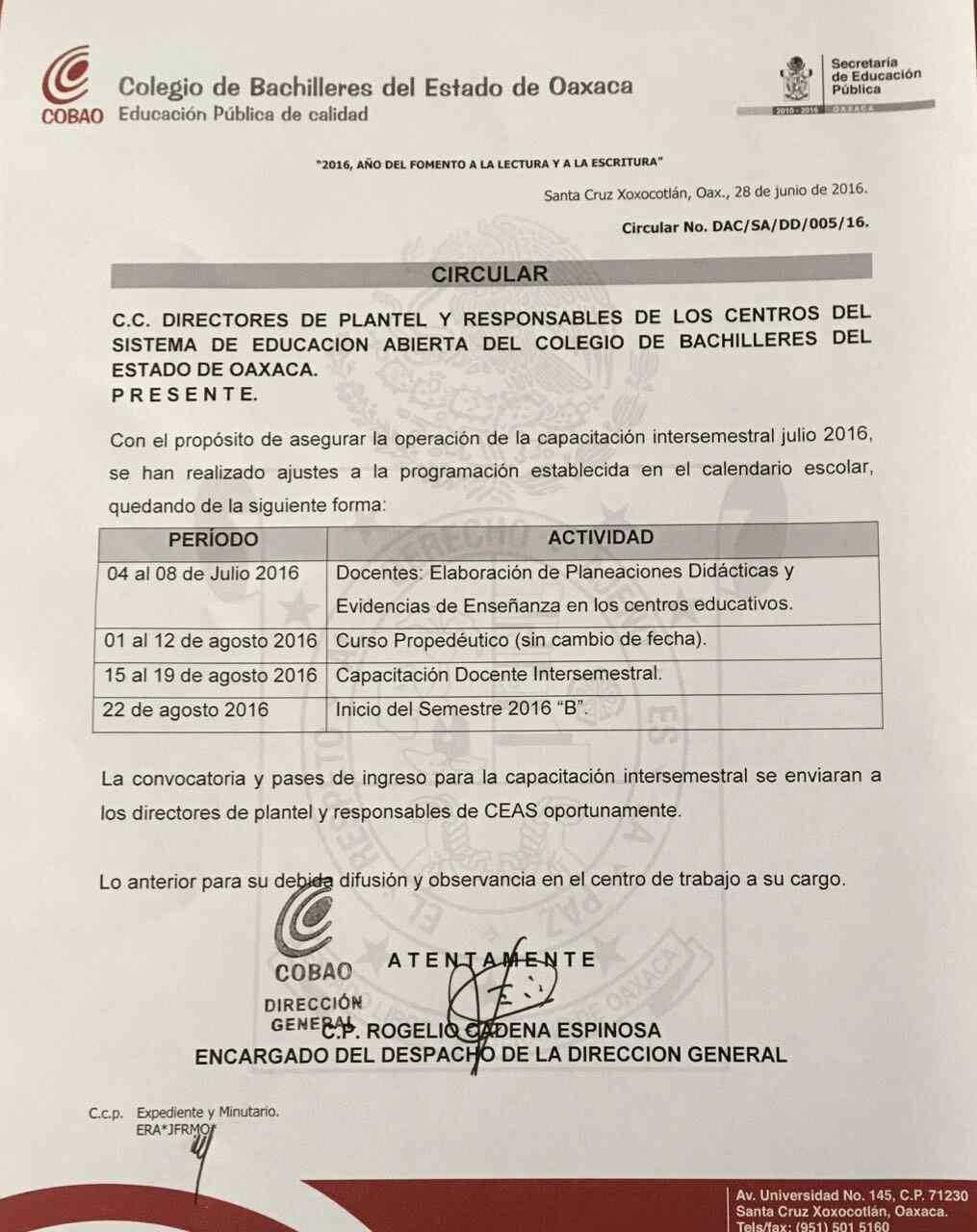 Convocatorias for Convocatoria para plazas docentes 2016